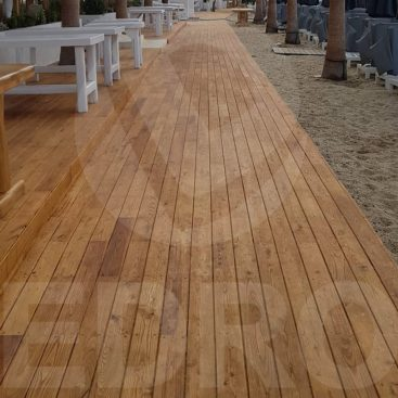 Ξύλινο Deck IROKO
