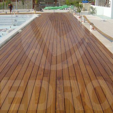 DEDRON: ξύλινο deck IROKO